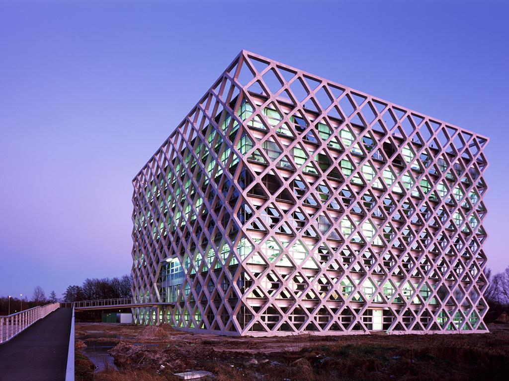 Archidat architectuur projecten atlas gebouw wageningen type projecten - Architectuur en constructie ...