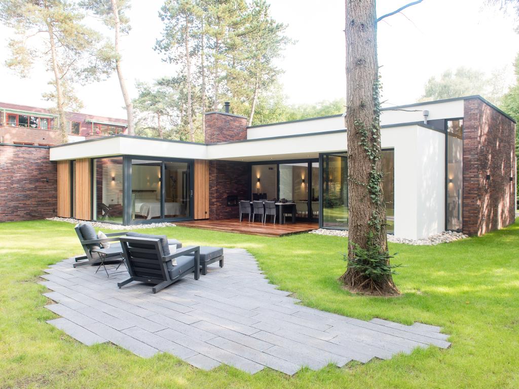 Archidat architectuur projecten bosvilla maarn type projecten