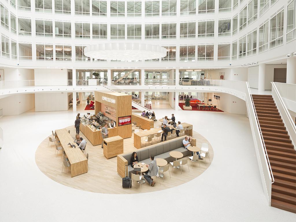 Archidat architectuur projecten eneco interieur for Interieur rotterdam
