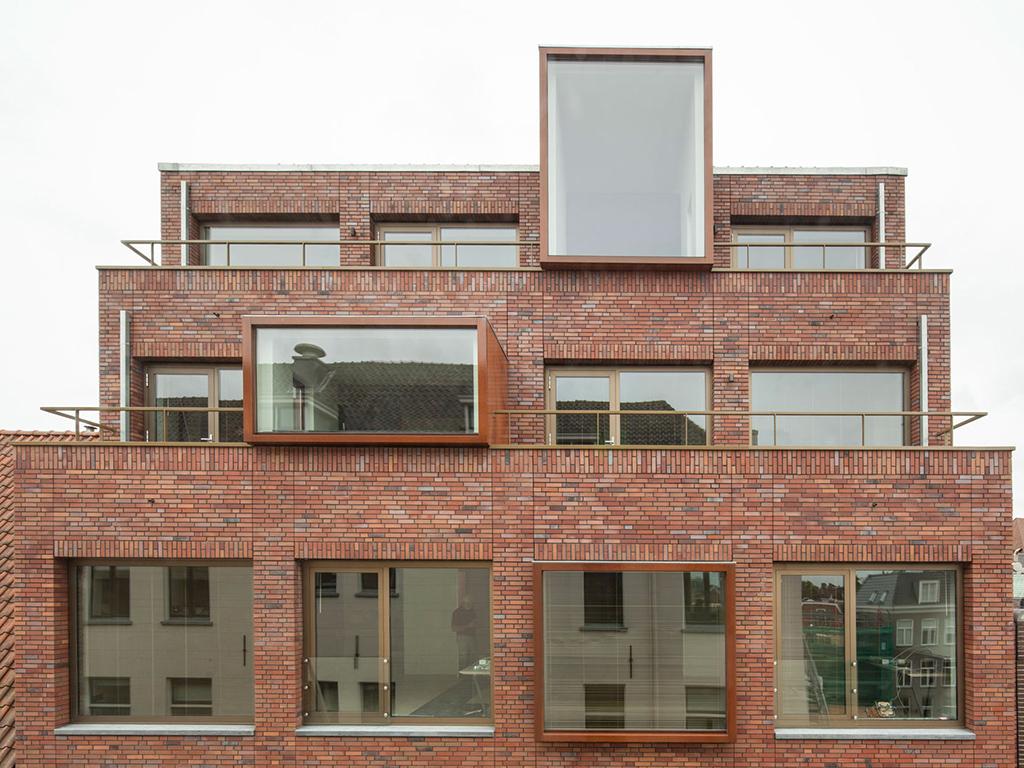 archidat architectuur projecten appartementen en bakkerij kleine der a type architecten. Black Bedroom Furniture Sets. Home Design Ideas