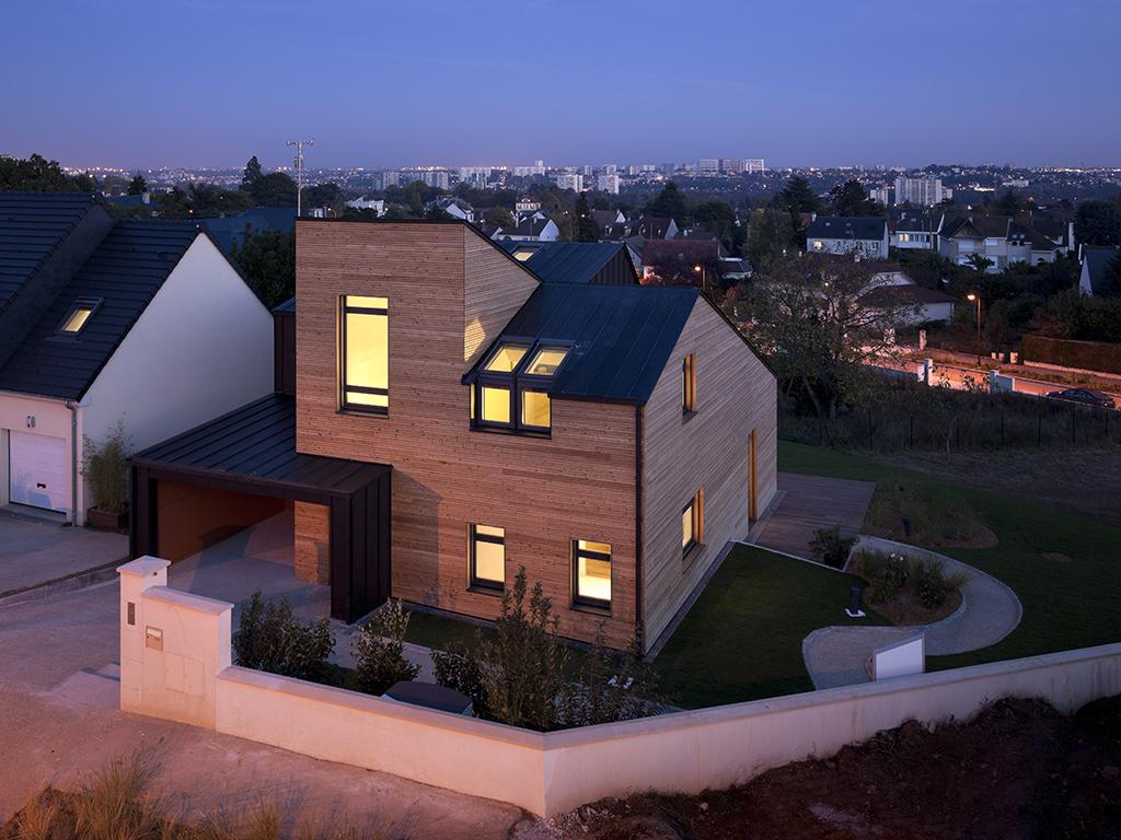 Archidat architectuur projecten maison air et lumiere for Maison saine air et lumiere