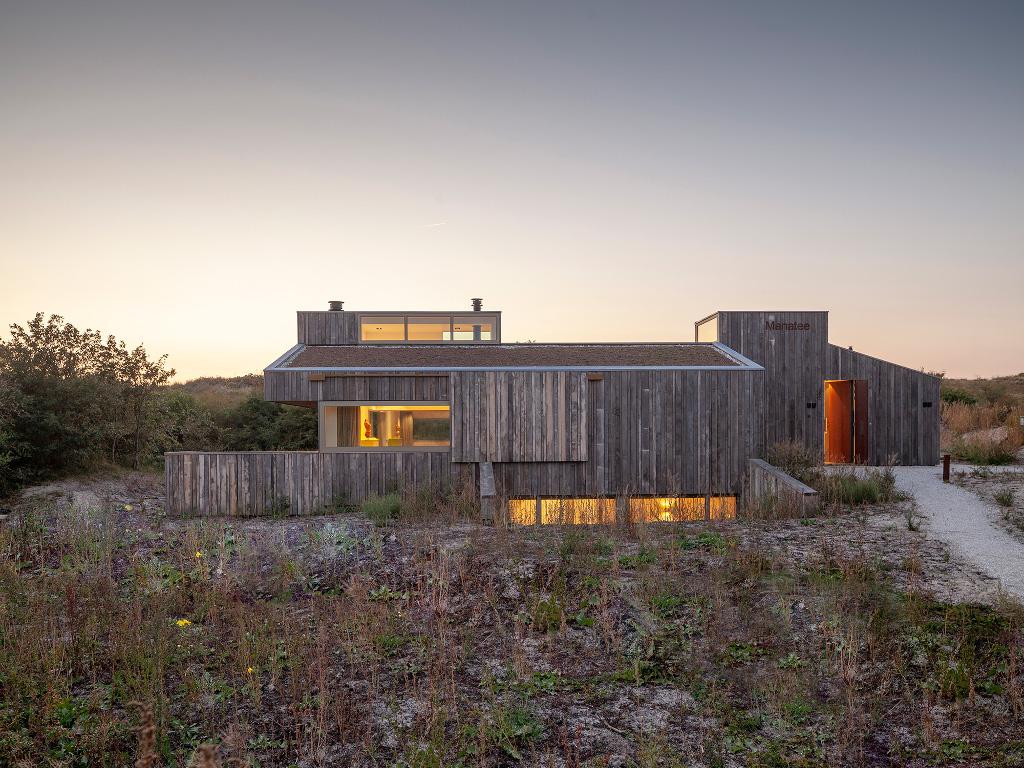 Archidat architectuur projecten vakantiewoning tussen duin en
