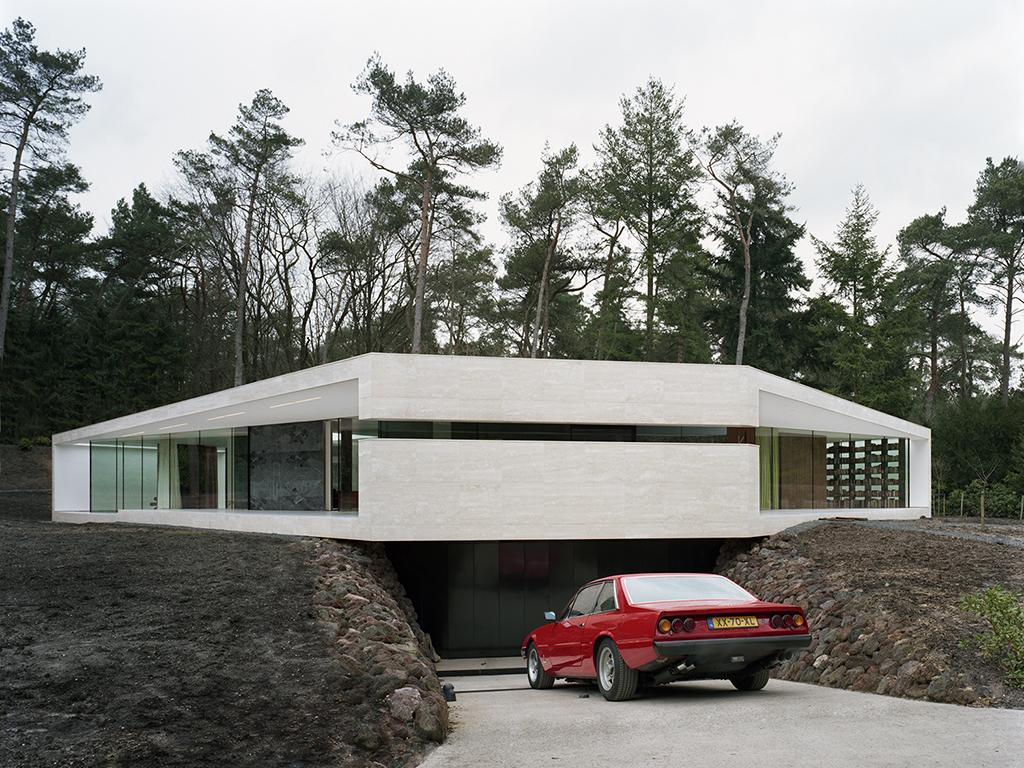 Archidat architectuur projecten villa 1 type projecten for Minimalist underground house