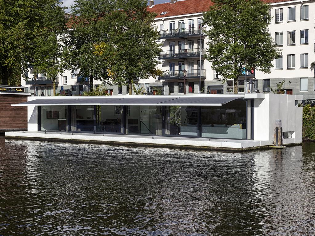 Archidat architectuur projecten watervilla weesperzijde