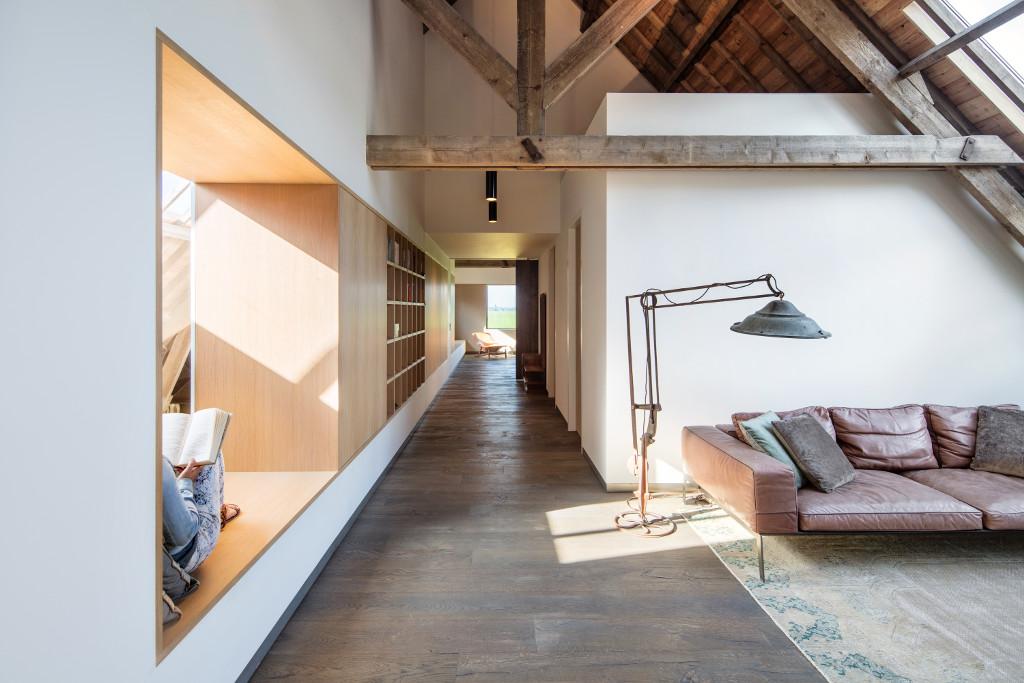 Archidat architectuur projecten woonboerderij type for Boerderij interieur ideeen